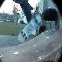 Impossible To Fakie On Ramp.